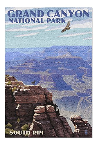 Grand Canyon National Park, Arizona - South Rim (20x30 Premium 1000 Piece Jigsaw Puzzle, Made in USA!)