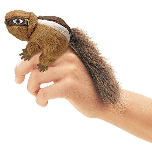(Folkmanis Mini Chipmunk Finger Puppet ,#G14E6GE4R-GE)