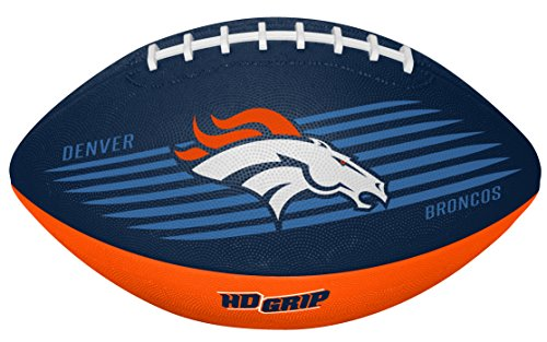 (Rawlings NFL Denver Broncos 07731066111NFL Downfield Football (All Team Options), Blue, Youth)