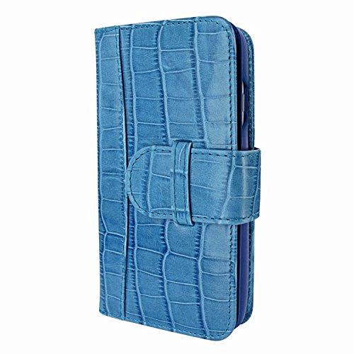 Piel Frama 764 Blue Crocodile WalletMagnum Leather Case for Apple iPhone 7 / 8