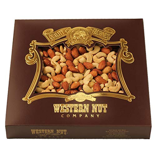 - Western Nut Company Heritage Gift Box, Premium Deluxe Mix - 2 lb