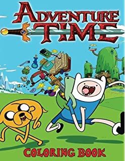Amazon.com: Adventure Time Adult Coloring Book Volume 1 ...