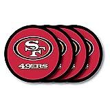 Duck House NFL San Francisco 49Ers Vinyl Coaster Set (Pack of 4)
