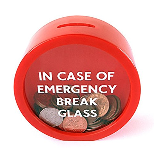 Money Save - New Hot Unique Design Safe Red Moneybox Saving Coin 11.5 5 cm - by ARISLUX