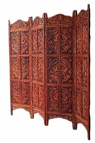 Aarsun Woods Wooden Room Divider Partition Screens Living Room Decor Gorgeous Divider Living Room Decoration