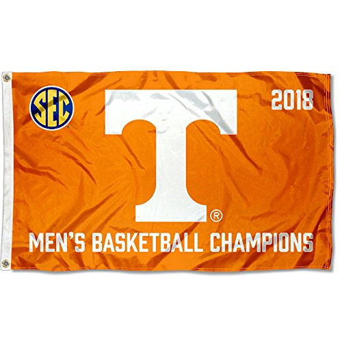 College Flags and Banners Co. Tennessee Volunteers 2018 SEC Basketball Champions Flag