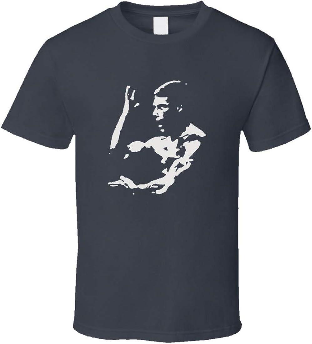 Jean Claude Van Damme camiseta artes marciales acción estrella de cine deporte sangre gris carbón