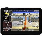 "Hieha 7"" Inch Car GPS Navigator SAT NAV FM MP3 MP4 128MB 8GB US CA Maps Lifetime Update"
