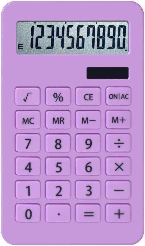 HaoErzidd Basic Electronic Calculator (Purple)