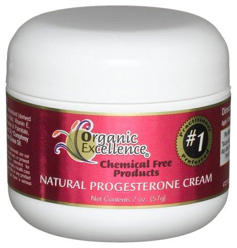 Excellence Bio - Féminin balance thérapie progestérone bio-identique Crème Sans Parfum - 2 oz