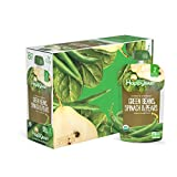 green baby food - Happy Baby Clearly Crafted Organic Baby Food Stage 2, Green Beans Pears & Spinach, 4 Ounce (Pack of 16)