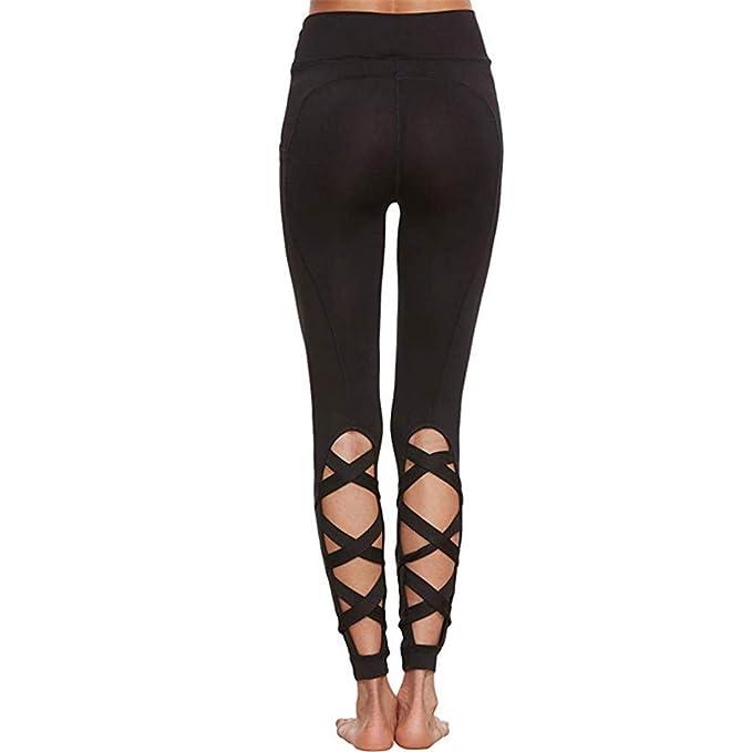 zarupeng✦‿✦ Pantalón de Yoga para Mujer Pantalones de ...