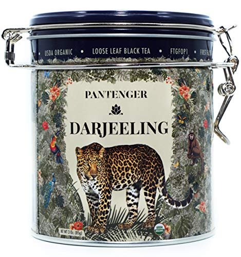 Darjeeling First Flush FTGFOP1. Darjeeling Loose Leaf Tea (3 Oz). USDA Organic Black Tea Darjeeling. Single Estate. High Altitude Darjeeling Tea Garden. Finest Black Tea Loose Leaf.