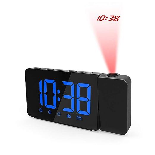 GUOYIHUA - Reloj Despertador Digital LED con Pantalla de ...