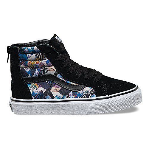 (Vans Nebula Mountains High Top Sneakers Multi 3 Medium Big Kids)