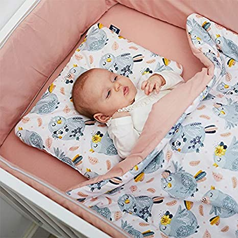 Travel Antishake Pillow Feeding Pillow Handmade 100/% Cotton Soft and Cozy High Quality Baby Bedding Swaddle Blanket Cars Baby Nest Bed Pillow Peti Bebe Baby 6in1 Set
