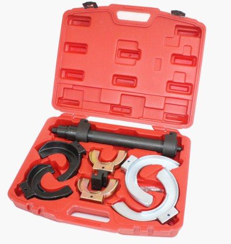 Auto MacPherson Interchangable Fork Strut Coil Spring Compressor Extractor (Fork Spring Set)