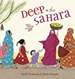 Front cover for the book Deep in the Sahara by Kelly Cunnane