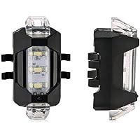 Lanterna Recarregável Dc-918 Para Bike Várias Cores