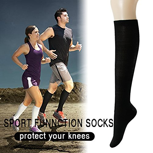 Compression Socks Unisex 6 Pairs 20 30 mmHg Medical Grade Stocking