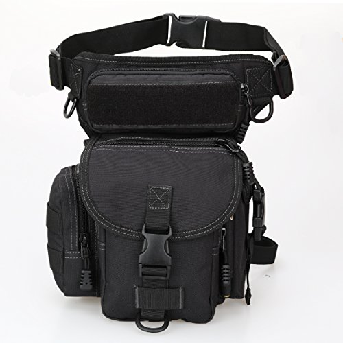 Multi-purpose Military Tactical Drop Leg Bag Walking Man Tool Thigh Waist  Belt Pack Leg Pouch Paintball Airsoft Motorcycle Riding Camera EDC Bag  Sling Pack ... c03789ca80284