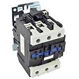 Direct Replacement for TELEMECANIQUE LC1-D80 AC Contactor LC1D80 LC1D8011-G6 120V Coil 3 Phase 3 Pole 80 Amp
