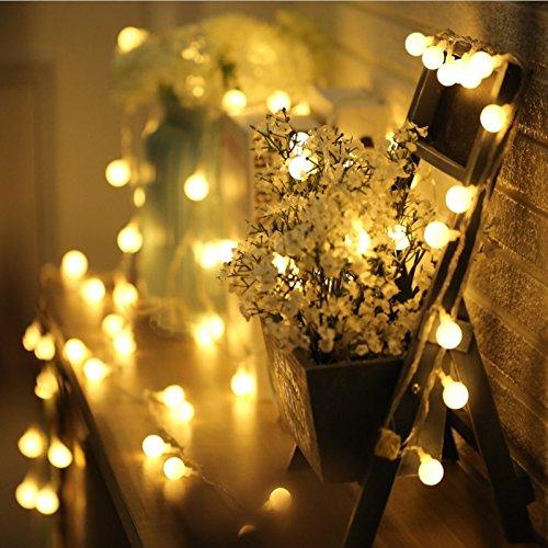yebao led small lights flashing stars light string holiday lights