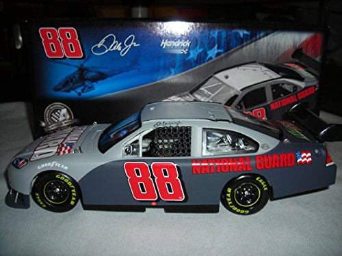 (2008 ACTION RCCA DALE EARNHARDT JR #88 NATIONAL GUARD TEST CAR 2008 IMPALA SS 1:24 NASCAR DIECAST)