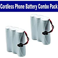 Synergy Digital Cordless Phone Combo-Pack includes: 2 x UL114 Batteries