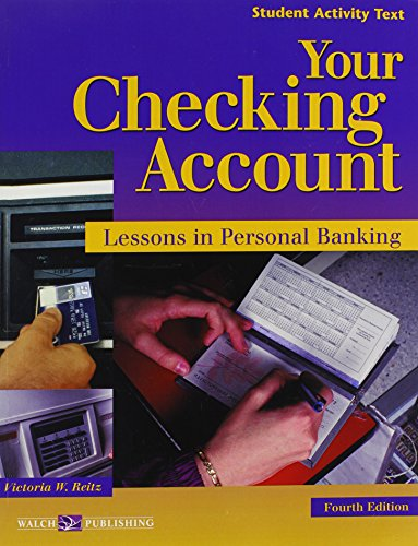 Your Checking Account: Lessons in Personal Banking