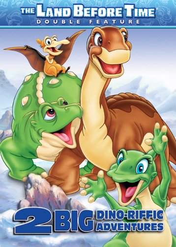 The Land Before Time: 2 Dino-Riffic Adventures (The Land Before Time Volume VIII: The Big Freeze/ The Land Before Time Volume IX: Journey to Big Water)