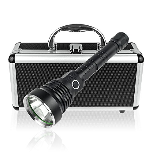 TurnRaise XM-L2 LED 1200 Lumens Flashlight Searchlight 55...