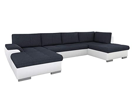 Amazon.com: EQsalon MIA U-Shaped Large Modern Sectional Sofa ...