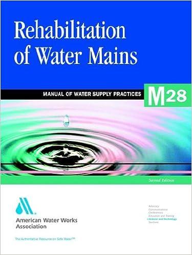 Rehabilitation of Water Mains: Awwa Manual M28 (Awwa Manual, M28)