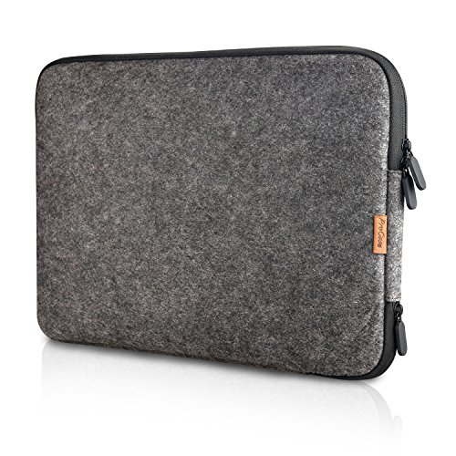 ProCase 13 - 13.5 Inch Felt Laptop Sleeve Case Bag for Macbook Pro Air, Surface Book and Most 12