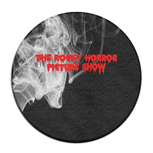 ASCHO2 The Rocky Horror Picture Show Indoor Outdoor Round Carpet Floor Mat - 2 Feet
