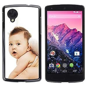 Exotic-Star ( Cute Fairy Baby ) Fundas Cover Cubre Hard Case Cover para LG Google NEXUS 5 / E980