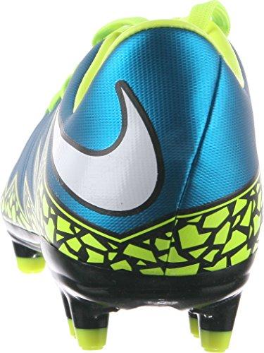 Nike Womens Hypervenom Phelon Ii Fg Voetbalcleat (blauwe Lagune, Volt, Zwart)