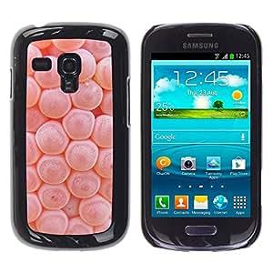 WonderWall ( NO PARA S3 i9300 ) Fondo De Pantalla Imagen Diseño Trasera Funda Carcasa Cover Skin Case Tapa Para Samsung Galaxy S3 MINI I8190 I8190N - biología macro cuerpo del microscopio