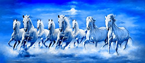Art Factory Feng Shui Eight Horse Painting Buy Online In
