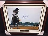 Ron Turcotte Triple Crown Winner Secretariat Autographed 16x20 Photo Coa - JSA Certified - Autographed Horse Racing Photos