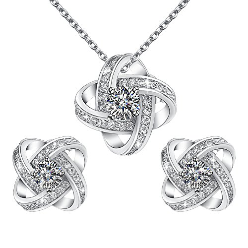 Yoursfs Bridal Jewelry Set Twisted