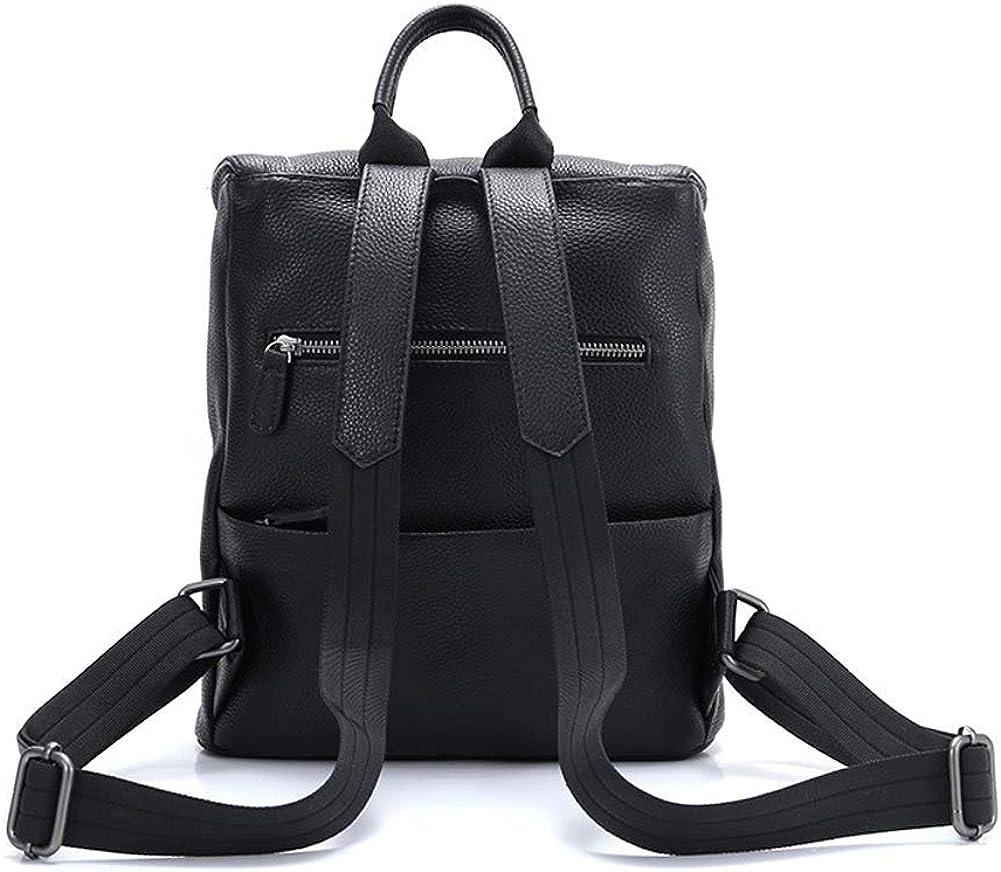 Donna zaino, pelle zaino moda secchio retrò borse borsa a tracolla borsa viaggio tempo libero zaino Giallo