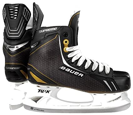 8e05bcd688c Amazon.com   Bauer Supreme One.6 Ice Skates  SENIOR    Hockey Ice ...
