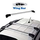 AUXMART 1Pc Universal Roof Rack Cross Bars Fits Most Vehicles
