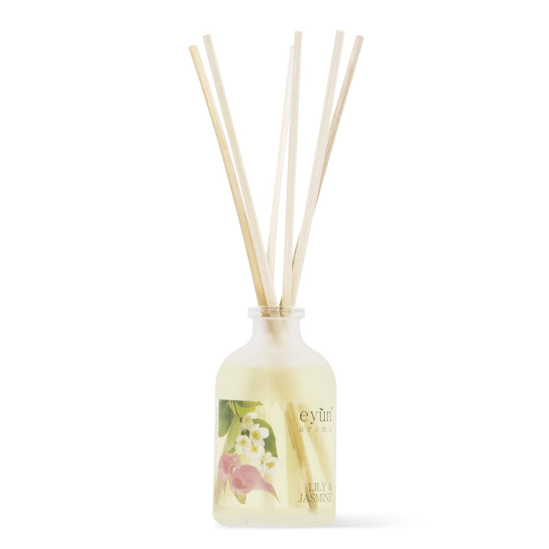 Lily & Jasmine Reed Diffuser Set – Home Fragrance – Home Decor & Housewarming Gift Idea