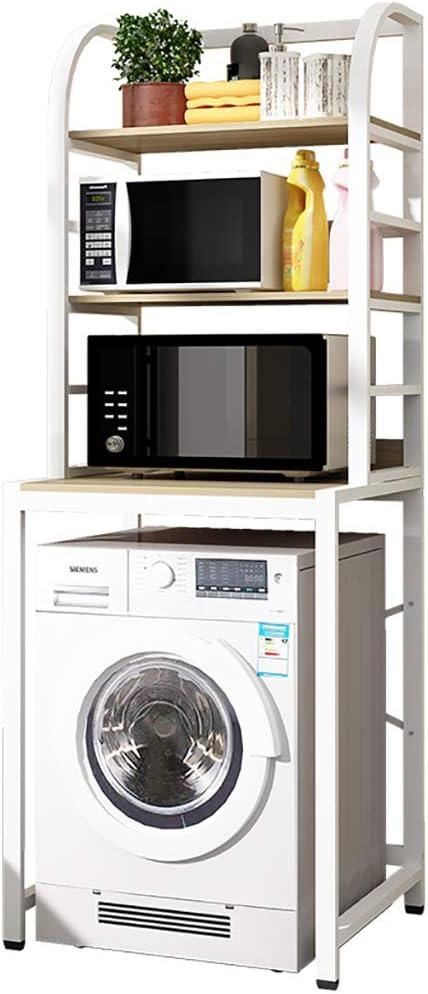 Estante lavadora Estante De Material De Hierro De 3 Capas Estante ...