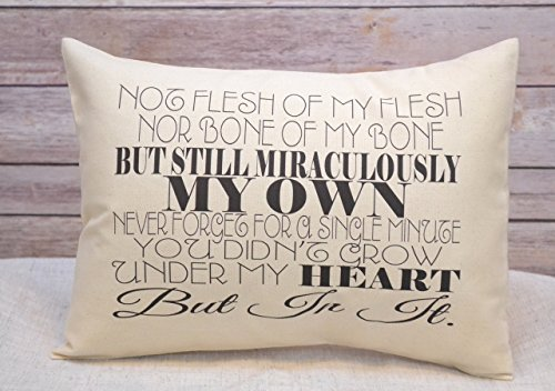Adoption Gift Pillow