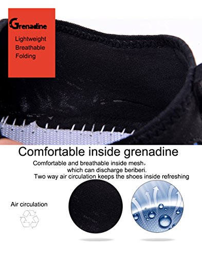 SAMI STUDIO Männer und Frauen Wasser Schuhe Leichte Durable Rolle Aqua Schuhe Geeignet Für Fahren Schwimmen Bootfahren Yoga Beach Surf Gelb