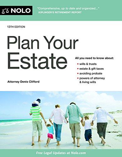 Book Cover: Plan Your Estate